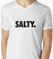 Salty. Men's V-Neck T-Shirt