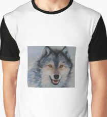 Winter Chase detail Graphic T-Shirt