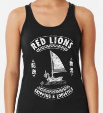 Red Lions Shipping & Logistics Racerback Tank Top