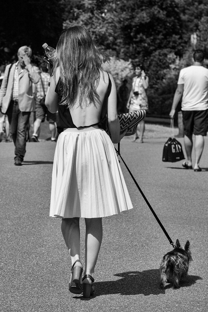 Walking the Dog #2 by Ellesscee