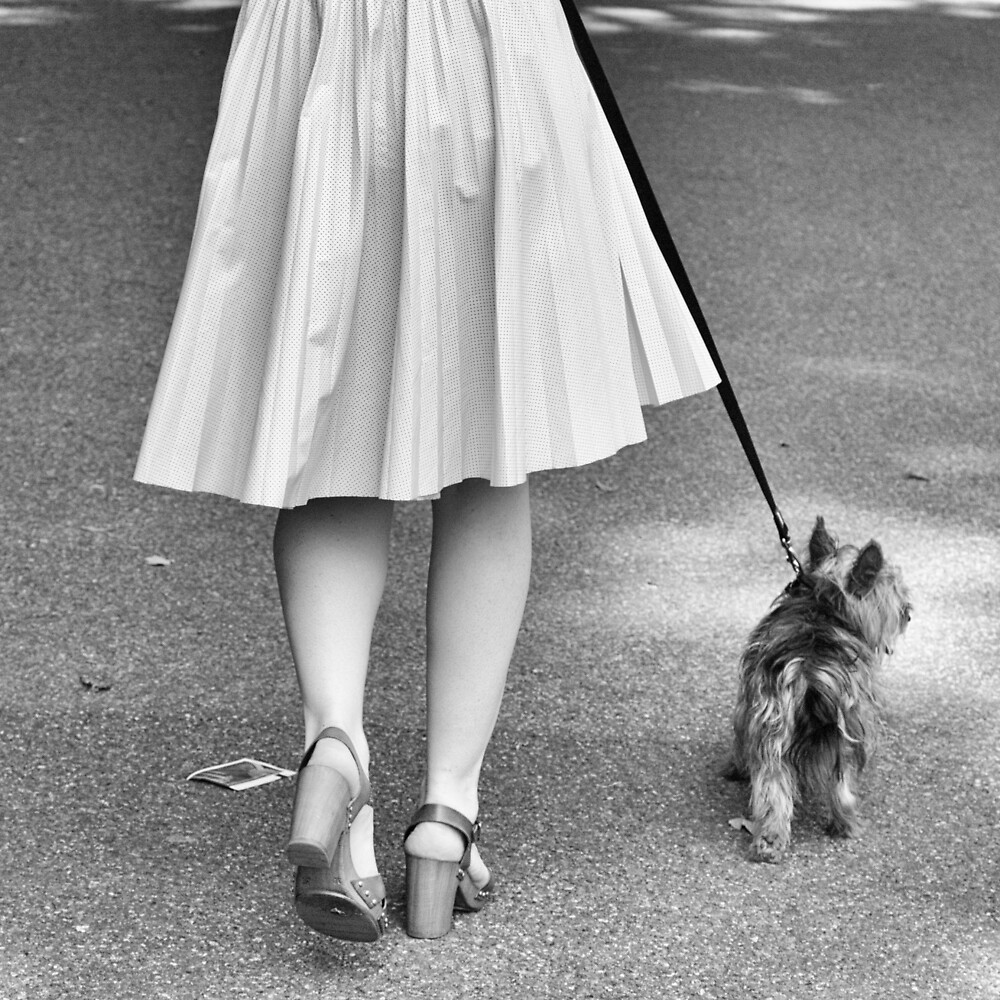 Walking the Dog by Ellesscee