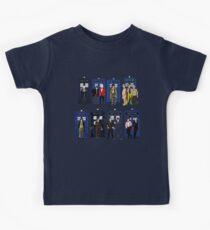 Doctor Who - Doctors & Tardises Kids Tee