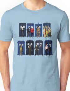 Doctor Who - Doctors & Tardises Unisex T-Shirt