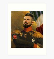 Monsieur Olivier Giroud Art Print