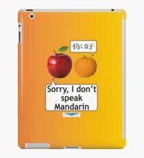 lost in translation  iPad Case/Skin