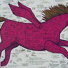The Pink Pegasus Pony by Bonnie coad