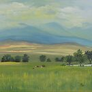 Spring City Landscape by Ria Spencer