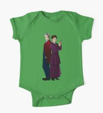 Missy and The Doctor One Piece - Short Sleeve