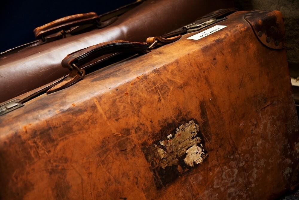 Vintage Luggage by Ellesscee