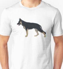 German Shepherd: Tan & Black Blanket Unisex T-Shirt