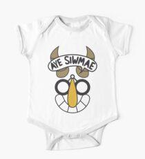 Aye Siwmae - Helm of Goofy Smiles One Piece - Short Sleeve