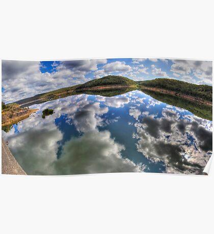 Dam Sydney - Mirror Reflection - Panorama Poster