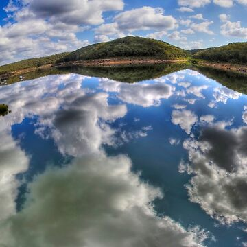 Dam Sydney - Mirror Reflection - Panorama by BryanFreeman