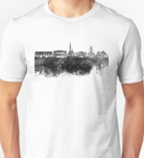Gothenburg skyline in black watercolor T-Shirt
