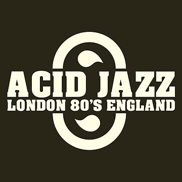 Acid jazz london white color by tenerson