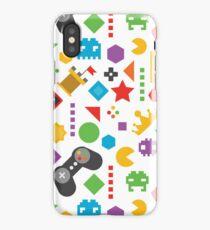 Videogame Game Pattern iPhone Case/Skin