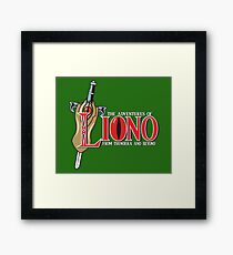 The Adventures of Liono Framed Print
