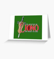 The Adventures of Liono Greeting Card