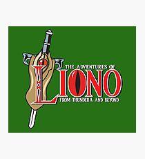 The Adventures of Liono Photographic Print
