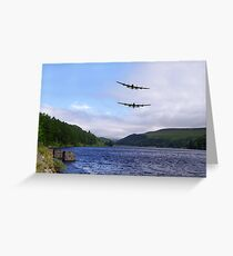 Bombers at the Dam  Greeting Card