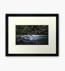 River in India Framed Print