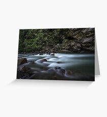 River in India Greeting Card