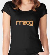 Vintage Orange Moog Women's Fitted Scoop T-Shirt