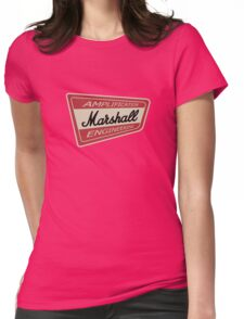 Vintage Marshall Amp  Womens Fitted T-Shirt