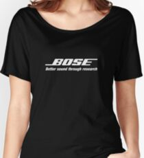 Bose White  Women's Relaxed Fit T-Shirt