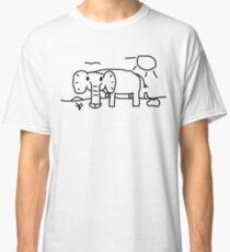 Dick Elephant In His Native Savanna Environment Classic T-Shirt