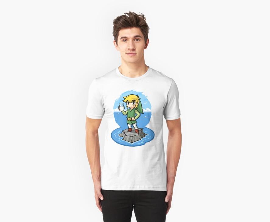 Zelda Wind Waker Bottle of Milk by Purrdemonium