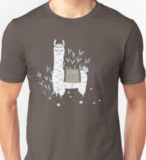 Smug Llama Unisex T-Shirt