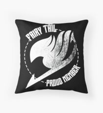 Fairy Tail - Proud Member Throw Pillow