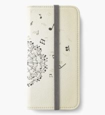 Music a dandelion iPhone Wallet/Case/Skin