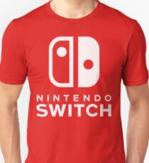 Nintendo Switch Hi-Res Logo T-Shirt