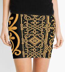 pattern of the past Mini Skirt