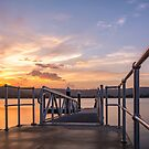Gosford Waterfront Sunset by Timothy Ciantar