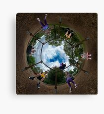 6 Seater Swing - Sky In Canvas Print