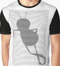 Bee script Barry Benson standing Graphic T-Shirt