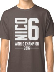 Nico Rosberg world champion 2016 Classic T-Shirt