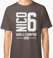 Nico Rosberg world champion 2016 Classic T-Shirt
