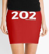 Washington, D.C. Area Code 202 Mini Skirt