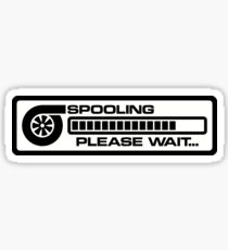 Turbo Spooling V2 Sticker