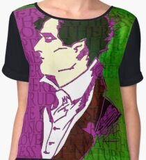 LORD BYRON, ENGLISH POET AND MADMAN Chiffon Top