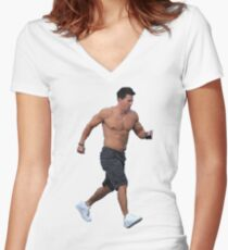 Mark Wahlberg Women's Fitted V-Neck T-Shirt