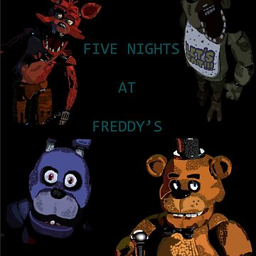 Five Nights at Freddy's fan made picture by SuperKonata
