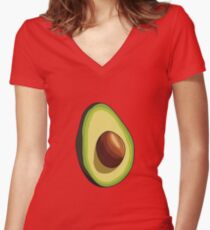 Avocado - Part 1 Women's Fitted V-Neck T-Shirt