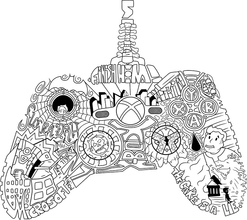 Controller Collage By Kyioo