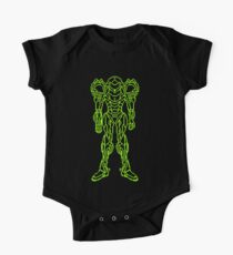 Super Metroid Schematic One Piece - Short Sleeve