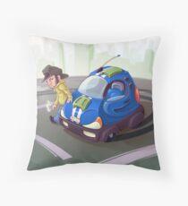City Cruiser Throw Pillow